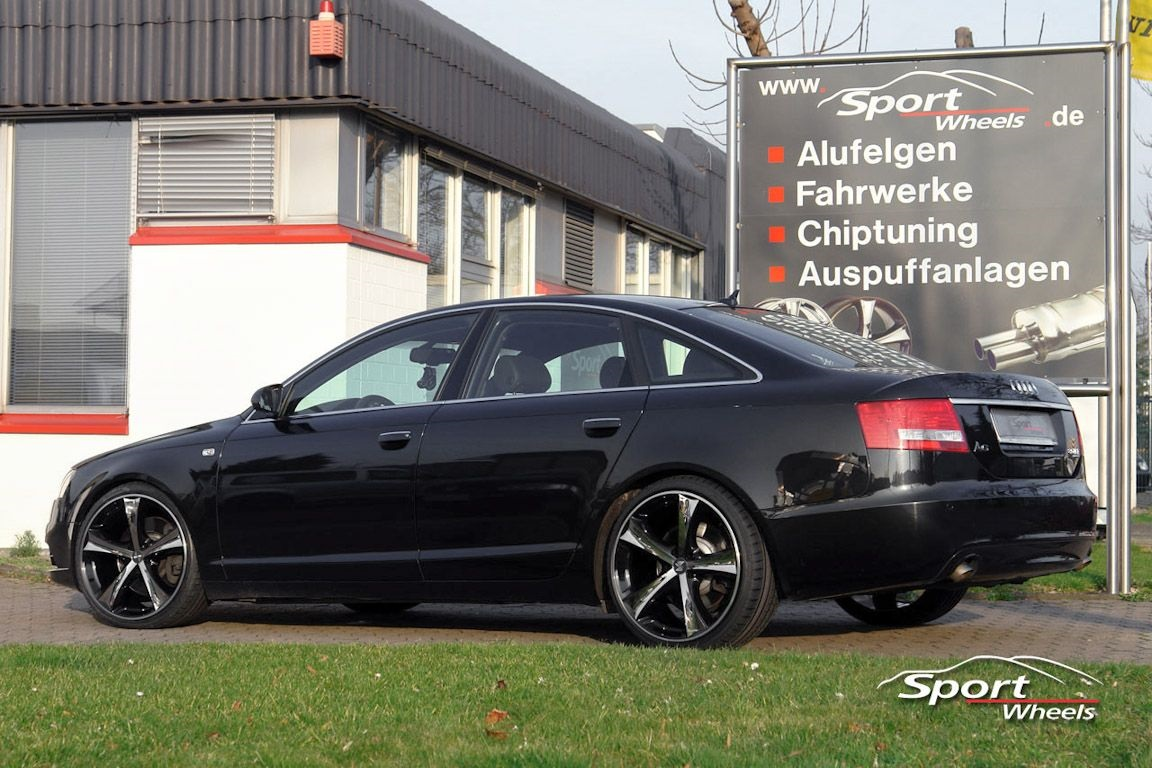 Audi a6 wheels for cartype 4f 4f1 mbdesign for Audi a6 4f interieur