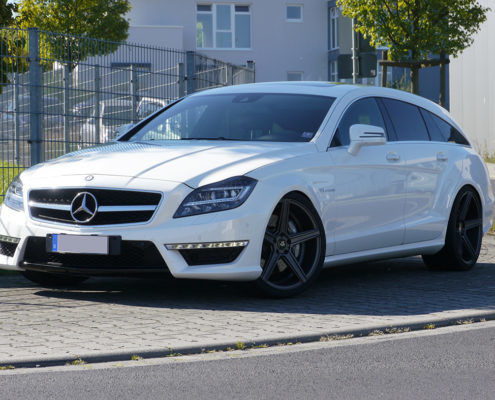 Mercedes Benz CLS AMG 218 Shooting brake - mbDESIGN KV1 9x20 + 10,5x20 - Grau Matt G1