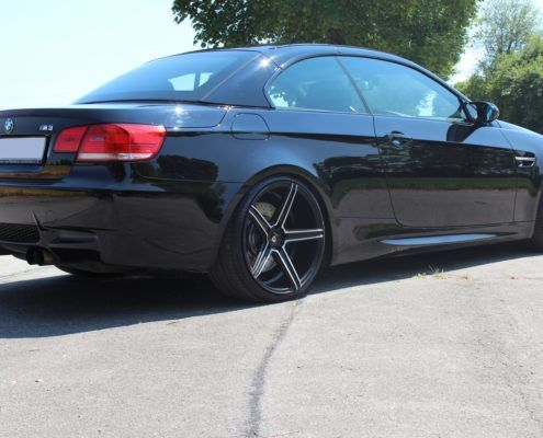 BMW M3 - mbDESIGN KV1 9020 + 10520 Black Matt Polish (B2)