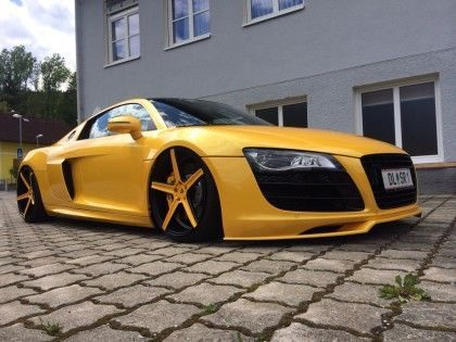 concave wheels KV1 on Audi R8 made by mbDESIGN