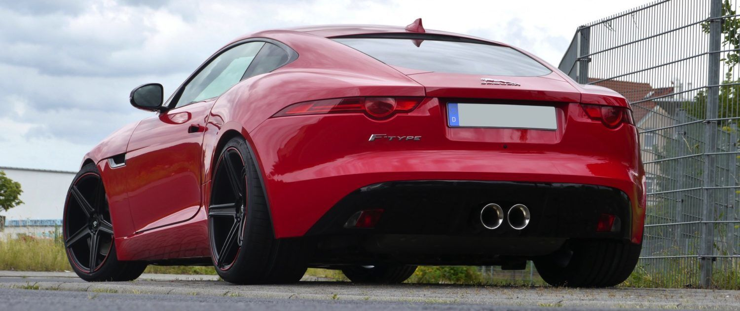 Jaguar F-Type Räder in extrem Konkaver Optik mit TÜV
