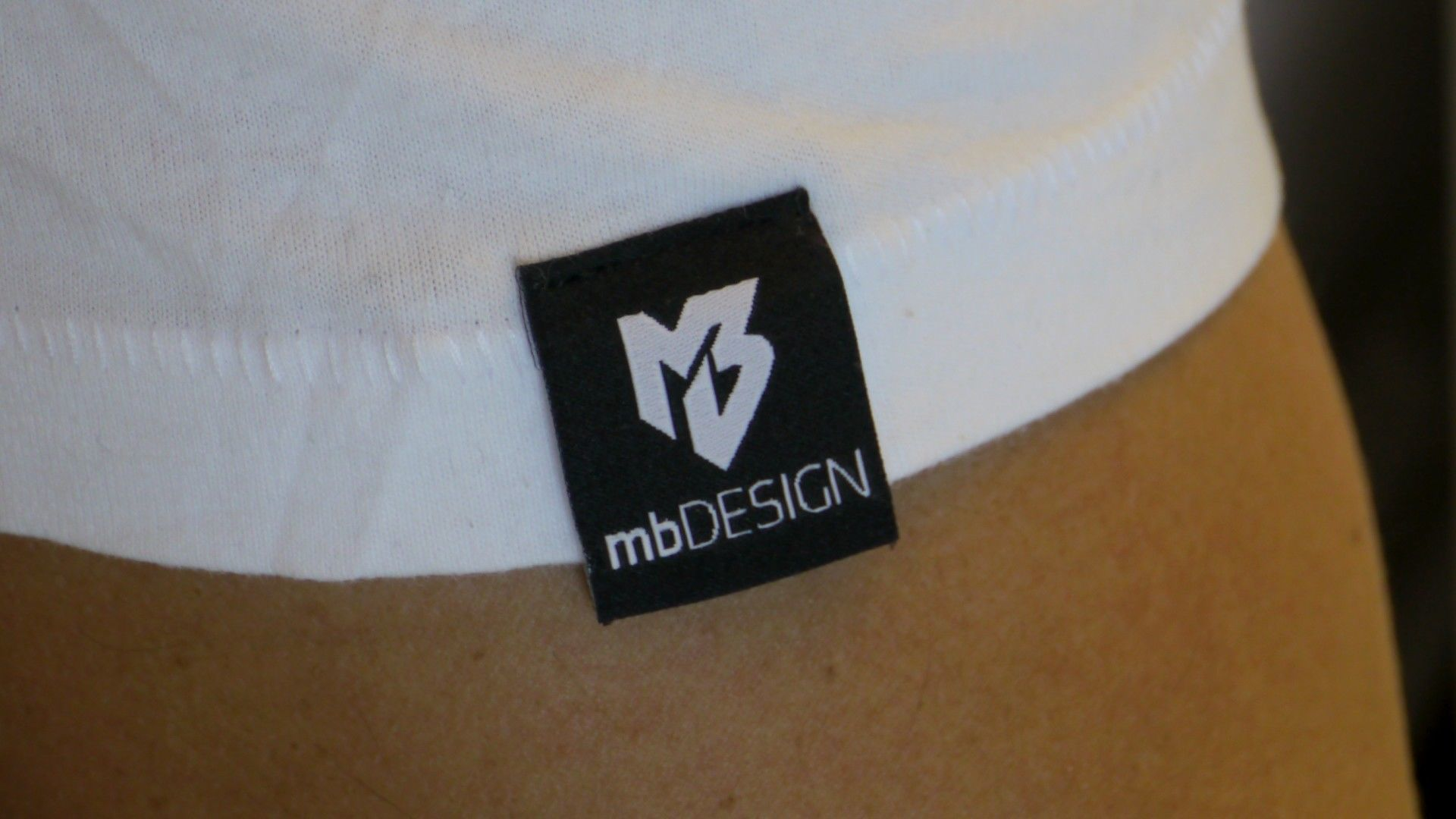 "T-Shirt ""mbDESIGN 20 Jahre"" 