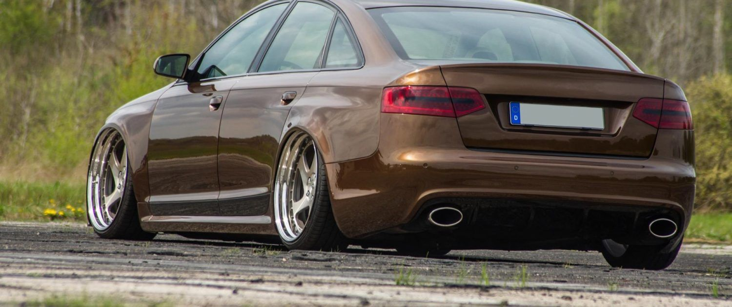 """Audi RS6 4F mit mbDESIGN AS1.3 (3.-tlg. forged) - 20"""" Zoll"""