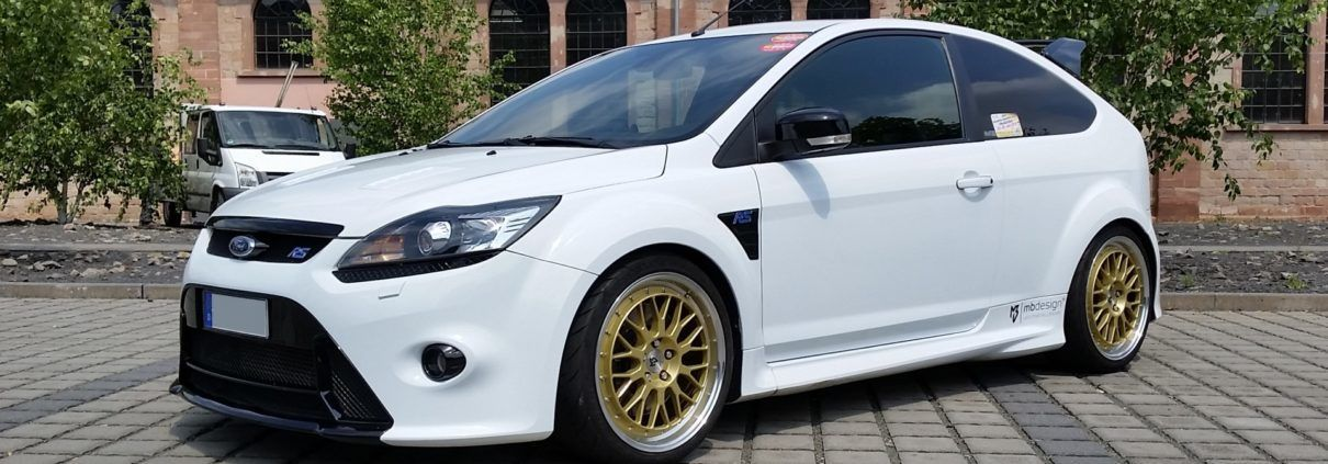 Ford Focus RS mbDESIGN LV1 8.5x19 Gold glänzend poliert