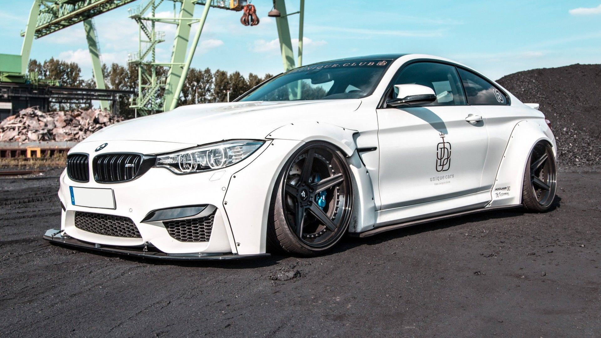 BMW M4 Liberty Walk mbDESIGN KV1.3 forged 10,5x20 + 12x20