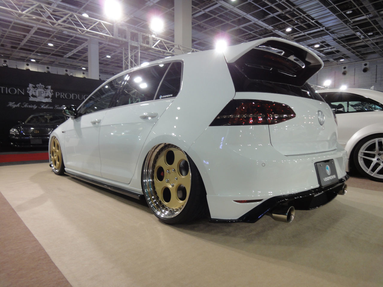 VW Golf 7 mbDESIGN RV1.3 forged 8.5x20 + 9.5x20